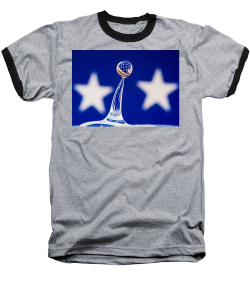 Patriotic Pop Baseball T-Shirt