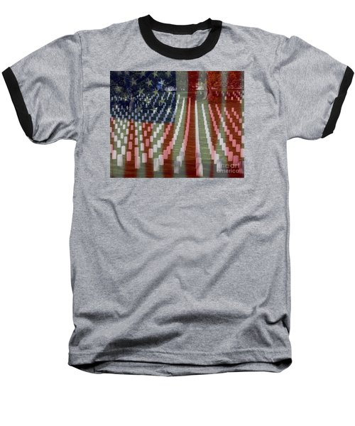 Patriotism Baseball T-Shirt