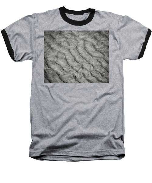 Patterns In The Sand Baseball T-Shirt