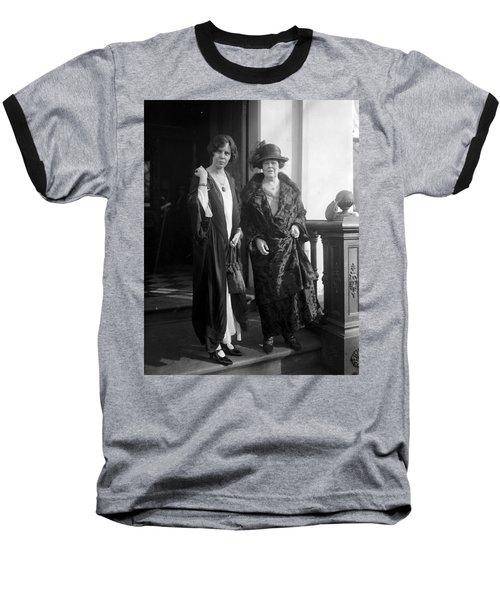 Baseball T-Shirt featuring the photograph Paul & Belmont, 1923 by Granger