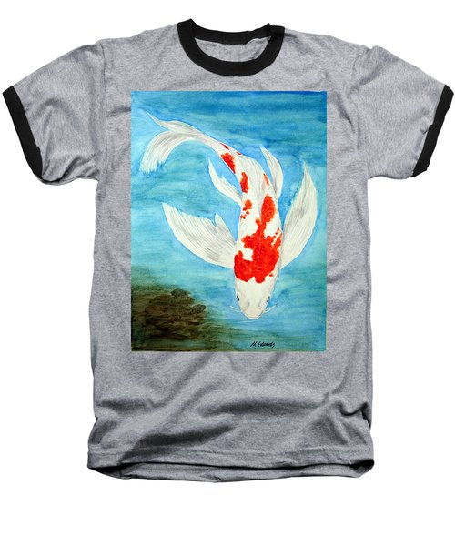 Paul's Koi Baseball T-Shirt