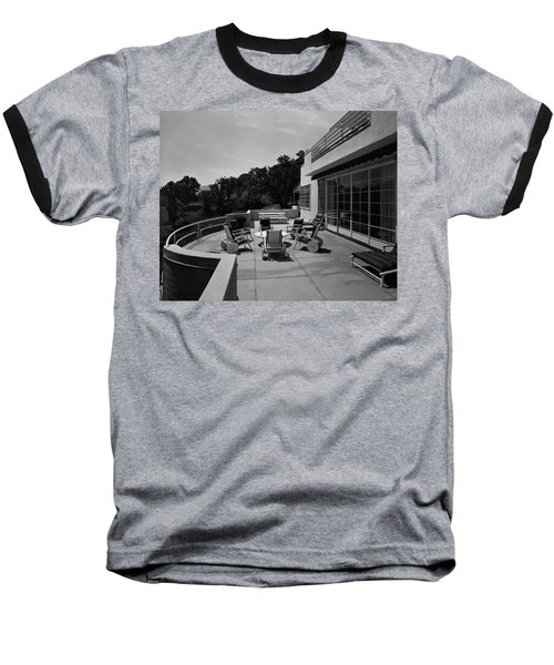 Paved Terrace At The Residence Of Mr. And Mrs Baseball T-Shirt