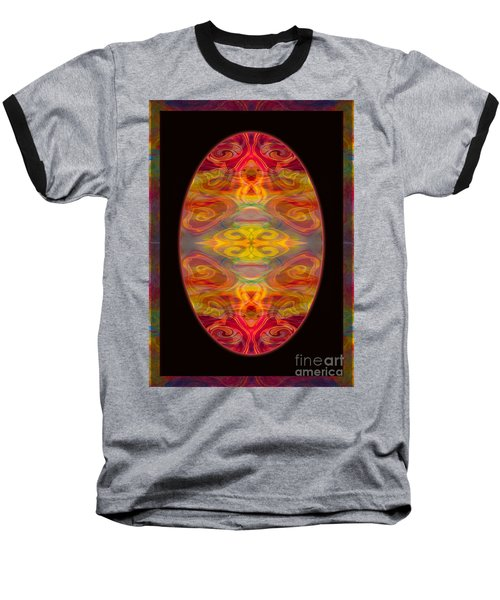 Peace And Harmony Abstract Healing Art Baseball T-Shirt