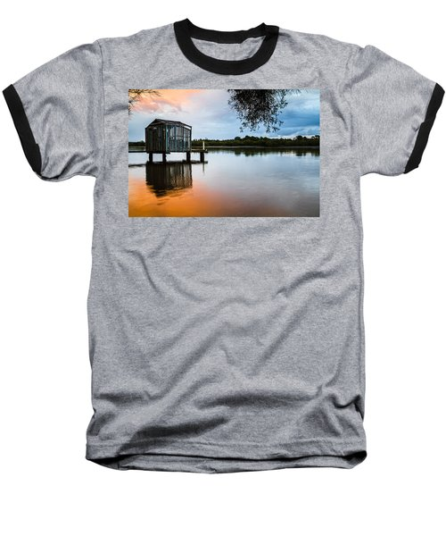 Peace At Pete's Jetty Baseball T-Shirt