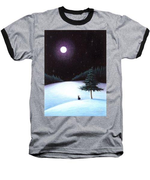 Peace Baseball T-Shirt by Danielle R T Haney
