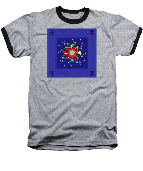 Baseball T-Shirt featuring the photograph Peace Drum by I'ina Van Lawick