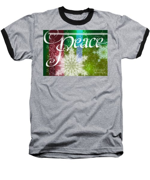 Peace Greeting Baseball T-Shirt