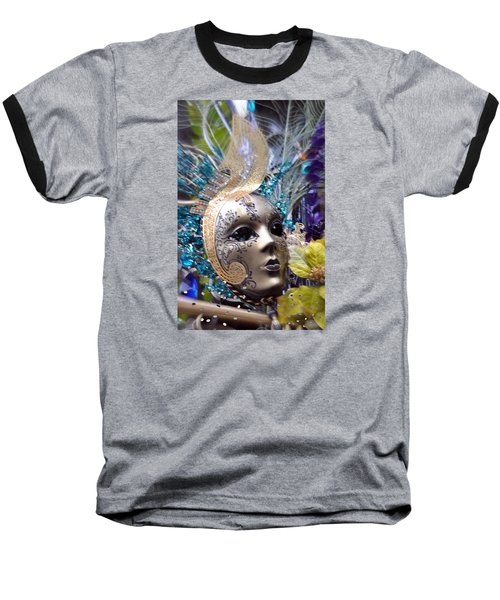 Peace In The Mask Baseball T-Shirt