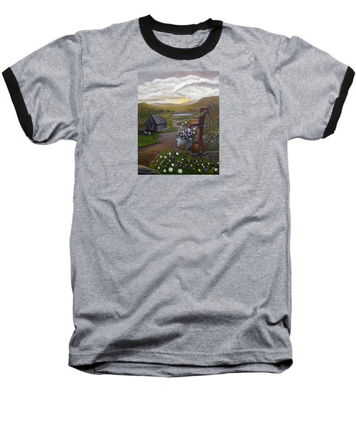 Peace In The Valley Baseball T-Shirt by Sheri Keith