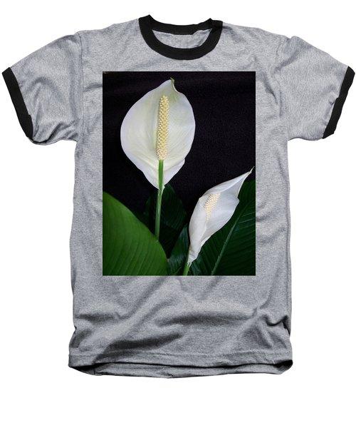 Peace Lilies Baseball T-Shirt