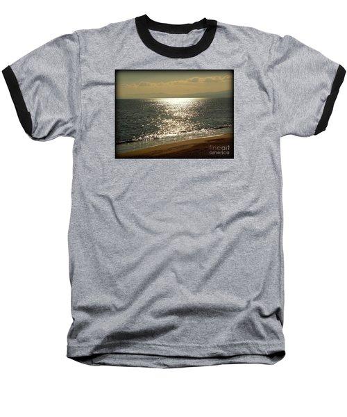 Peace Of Mind... Baseball T-Shirt by Nina Stavlund