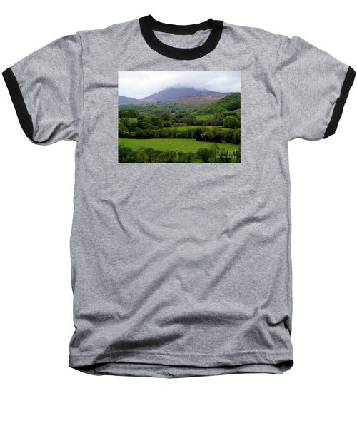 Peace On The Emerald Isle Baseball T-Shirt by Patricia Griffin Brett