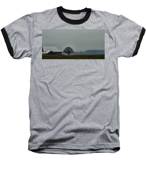 Peaceful Country Morning Baseball T-Shirt