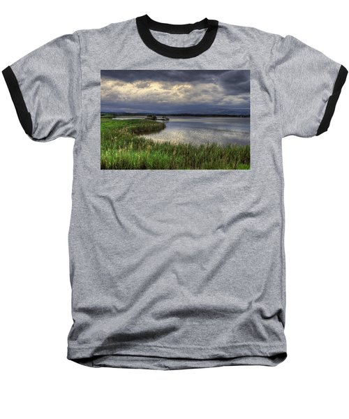 Peaceful Evening At The Lake Baseball T-Shirt