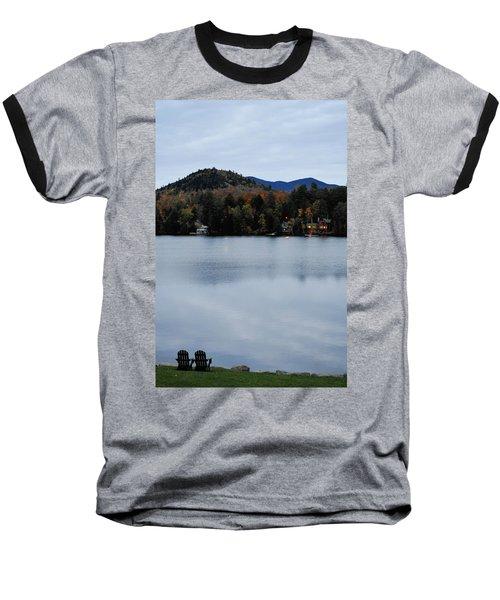 Peaceful Evening At The Lake Baseball T-Shirt