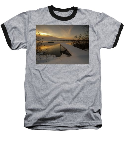 Peaceful Morning  Baseball T-Shirt