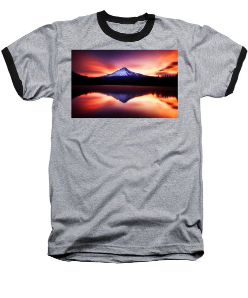 Peaceful Morning On The Lake Baseball T-Shirt