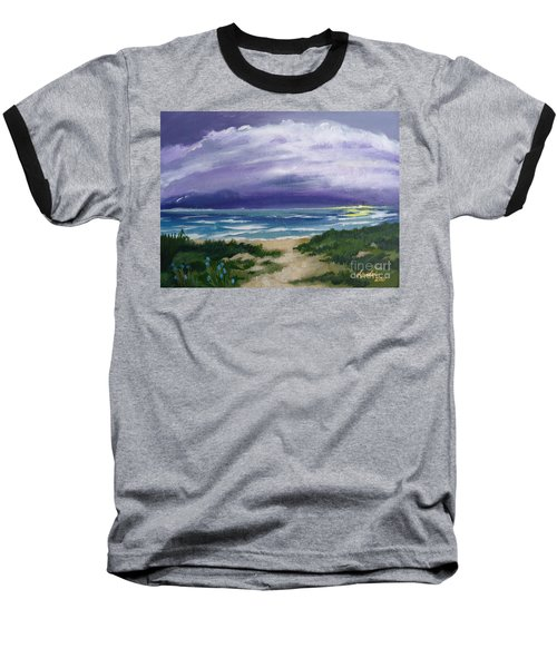 Peaceful Sunrise Baseball T-Shirt
