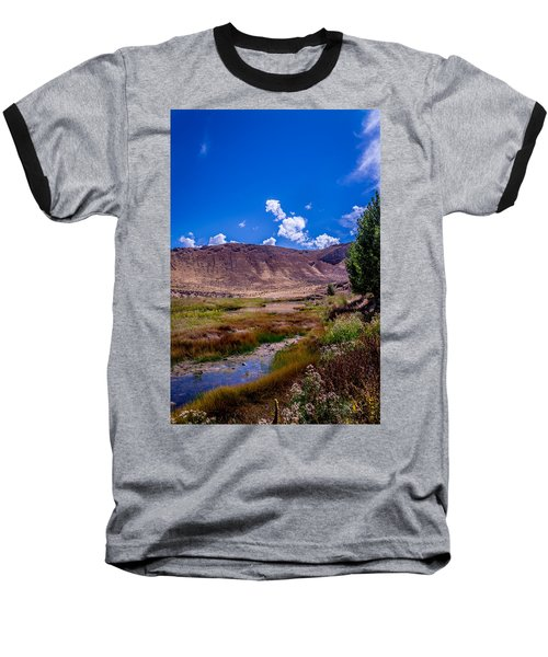 Peaceful Valley II Baseball T-Shirt
