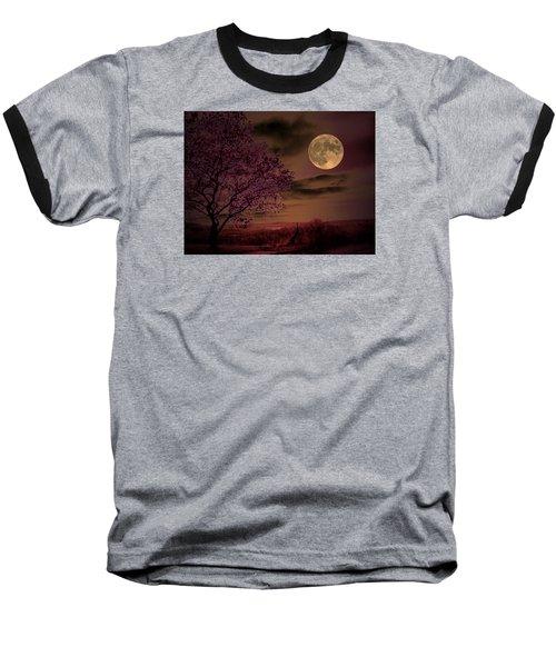 Peaceful Valley Baseball T-Shirt by Robert McCubbin