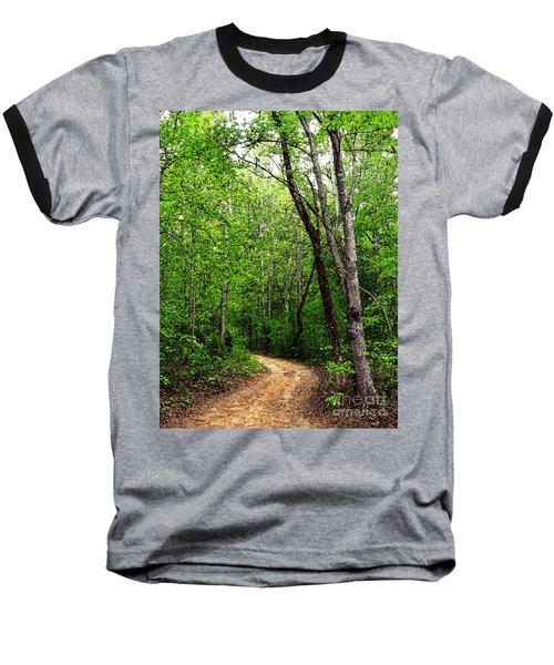 Peaceful Walk Baseball T-Shirt