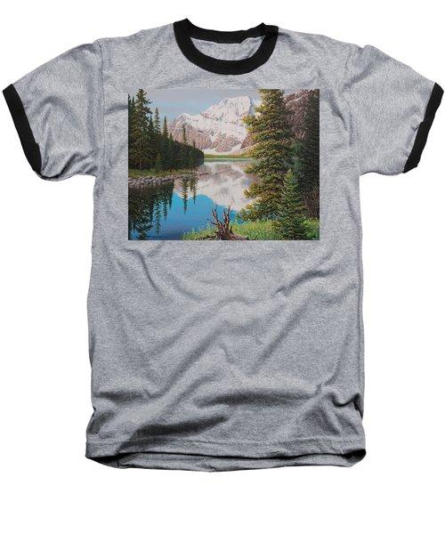 Peaceful Waters Baseball T-Shirt