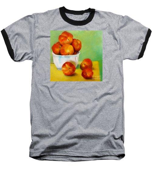 Peachy Keen Baseball T-Shirt by Michelle Abrams