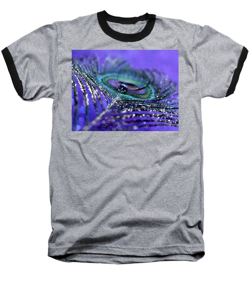 Peacock Spirit Baseball T-Shirt