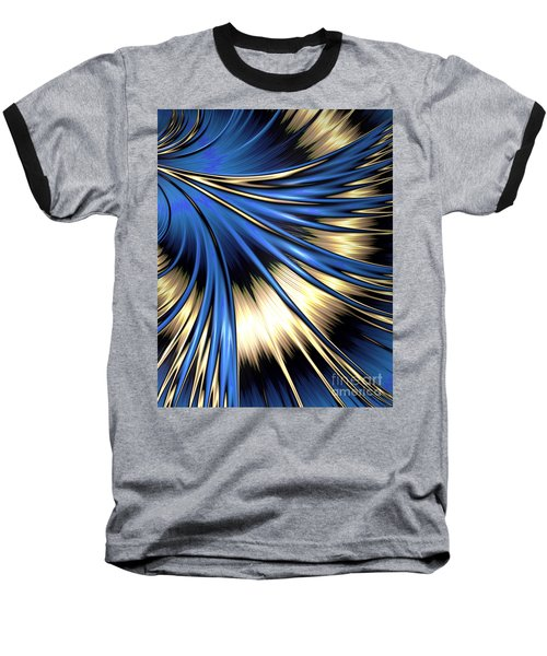 Peacock Tail Feather Baseball T-Shirt
