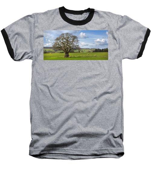 Peak District Tree Baseball T-Shirt