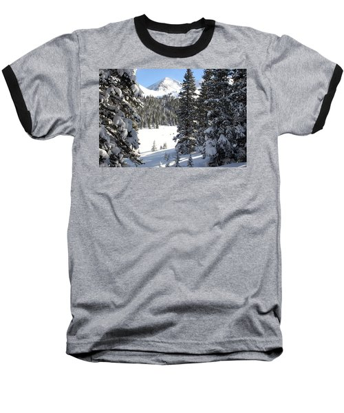 Peak Peek Baseball T-Shirt