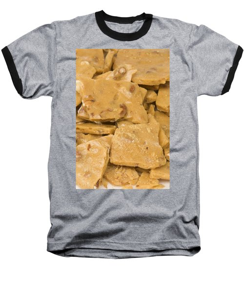 Peanut Brittle Closeup Baseball T-Shirt