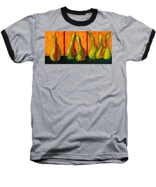 Pear Whimsy Baseball T-Shirt