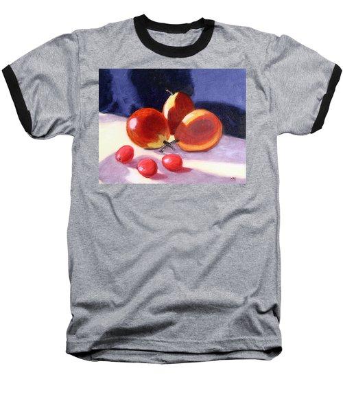 Pears And Grapes Baseball T-Shirt