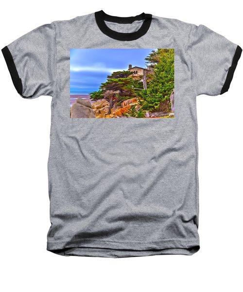 Pebble Beach Ca Baseball T-Shirt