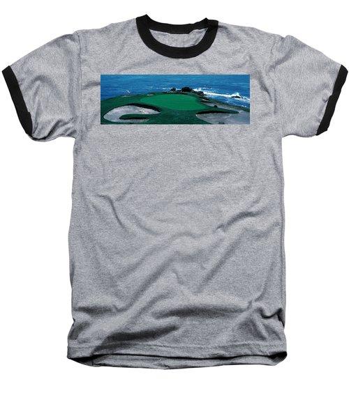 Pebble Beach Golf Course 8th Green Baseball T-Shirt