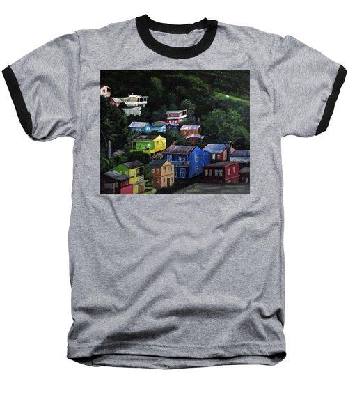 Pedazito De Yauco Cerro Baseball T-Shirt