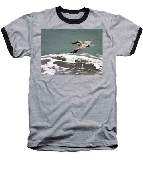 Pelican Flying Baseball T-Shirt