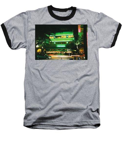 Pelican Hotel Film Image Baseball T-Shirt