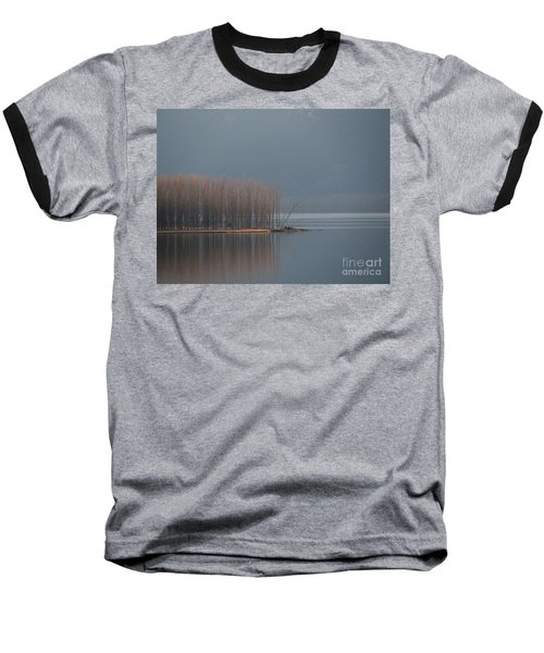 Peninsula Of Trees Baseball T-Shirt