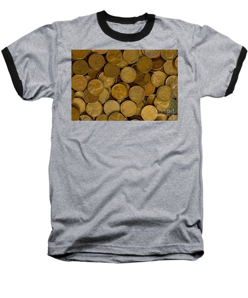 Pennies Baseball T-Shirt