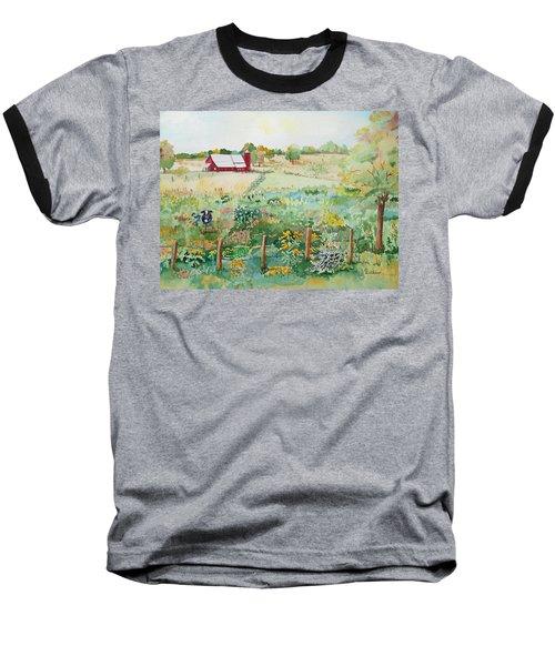 Pennsylvania Pasture Baseball T-Shirt by Christine Lathrop