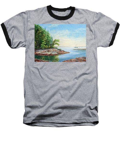 Penobscot Inlet Baseball T-Shirt