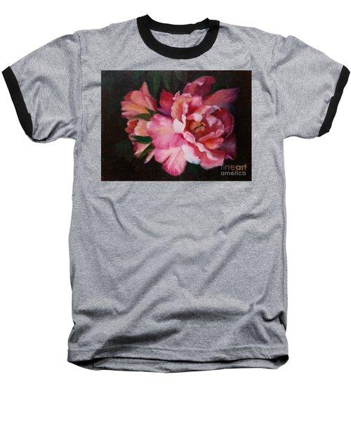 Peonies No 8 The Painting Baseball T-Shirt