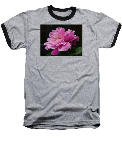 Baseball T-Shirt featuring the photograph Peony Blossoms by Lingfai Leung