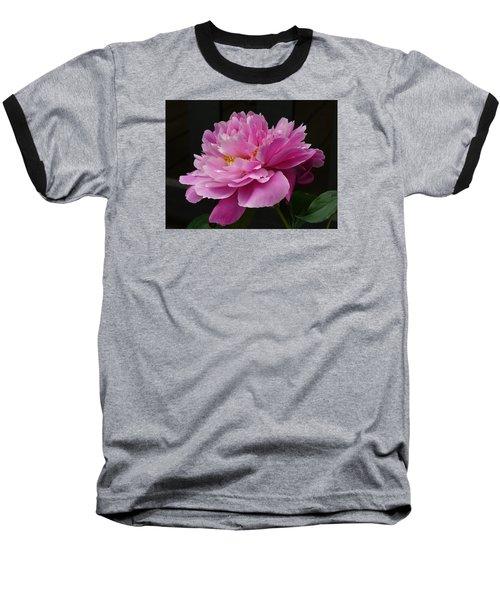 Peony Blossoms Baseball T-Shirt