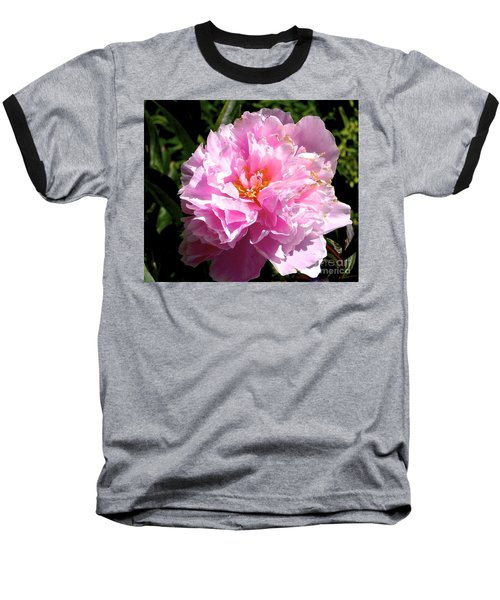 Baseball T-Shirt featuring the photograph Peony by Sher Nasser
