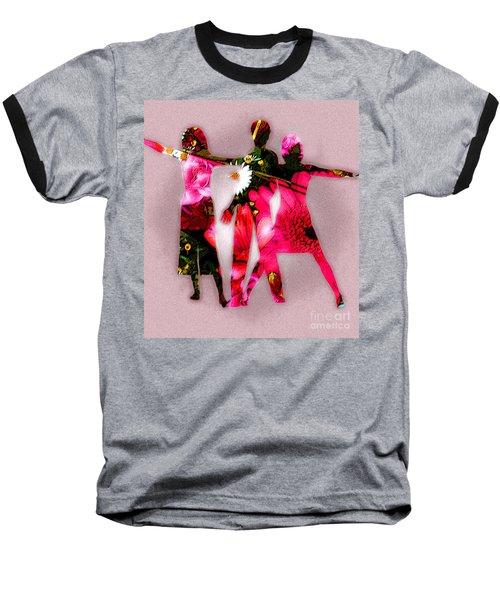 People Fashion Baseball T-Shirt