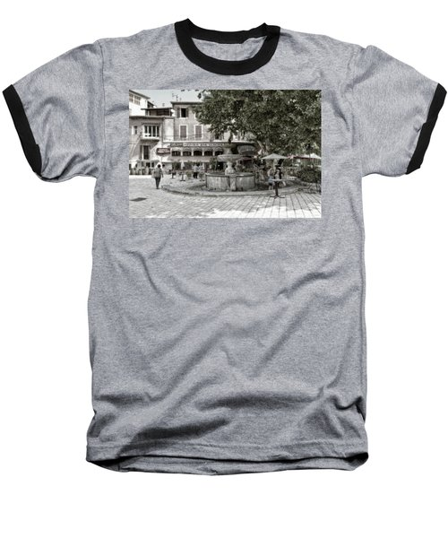 People On The Square Baseball T-Shirt