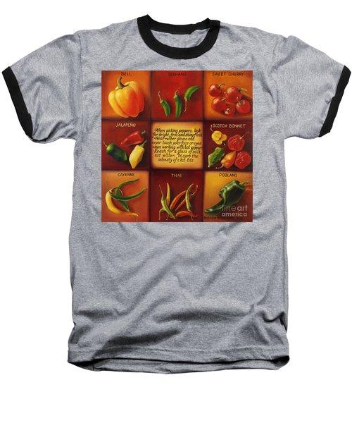Pepper Facts  Baseball T-Shirt